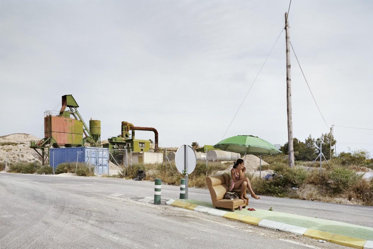 Провинция Мурсия, Трасса С-3223. Фотопроект «Игра в ожидание». Фотограф Чема Сальванс