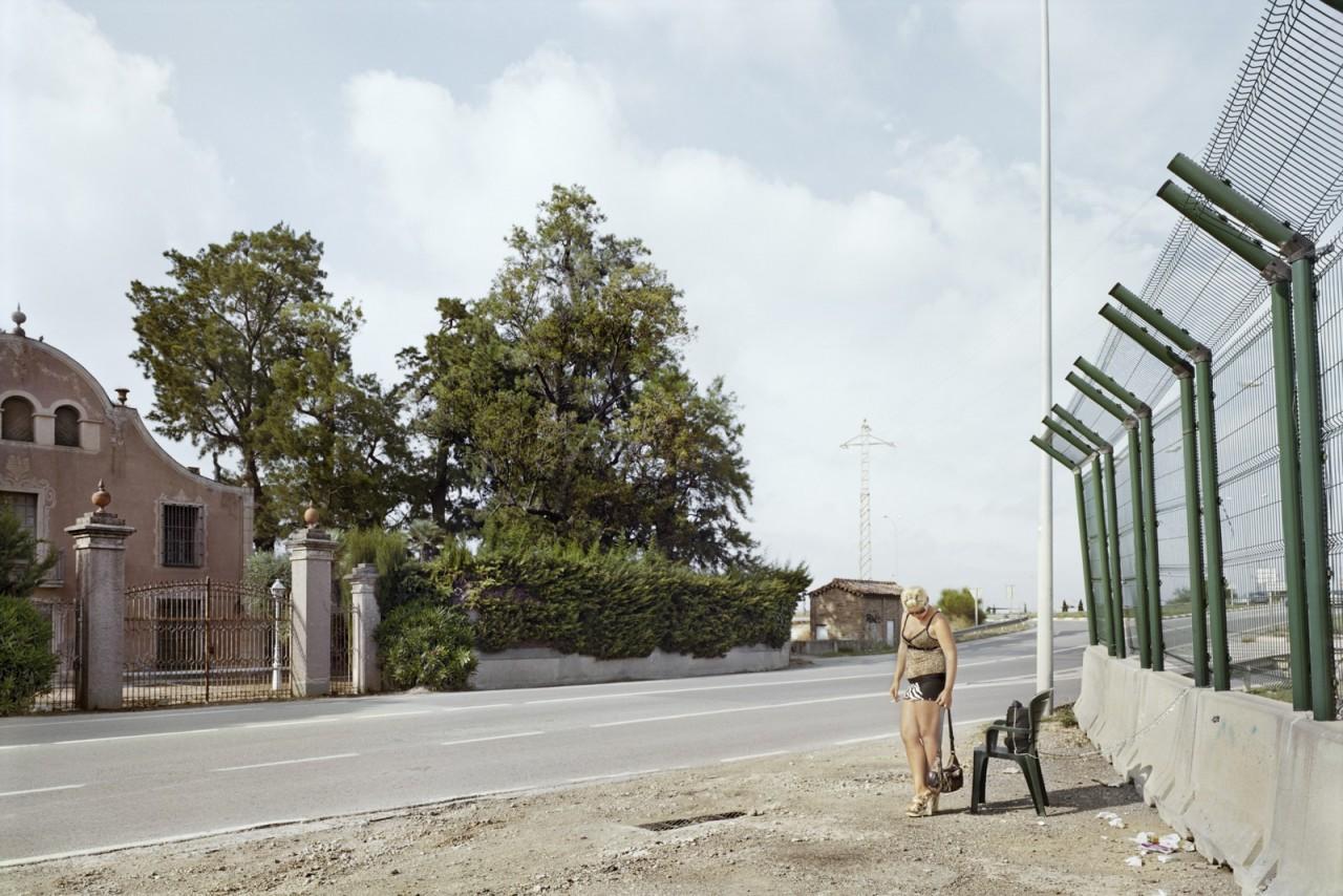 Эль-Прат-де-Льобрегат, провинция Барселона, Трасса B-204. Фотопроект «Игра в ожидание». Фотограф Чема Сальванс