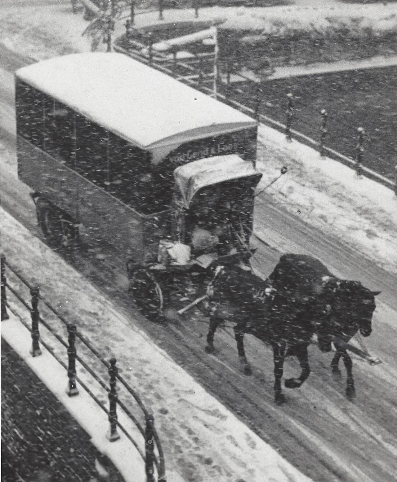 Амстердам, январь 1956-го. Фотограф Кис Шерер