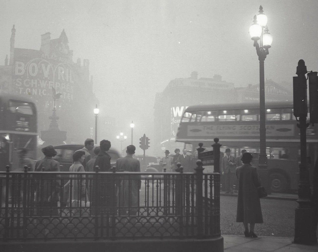 Лондон, 1961. Фотограф Кис Шерер