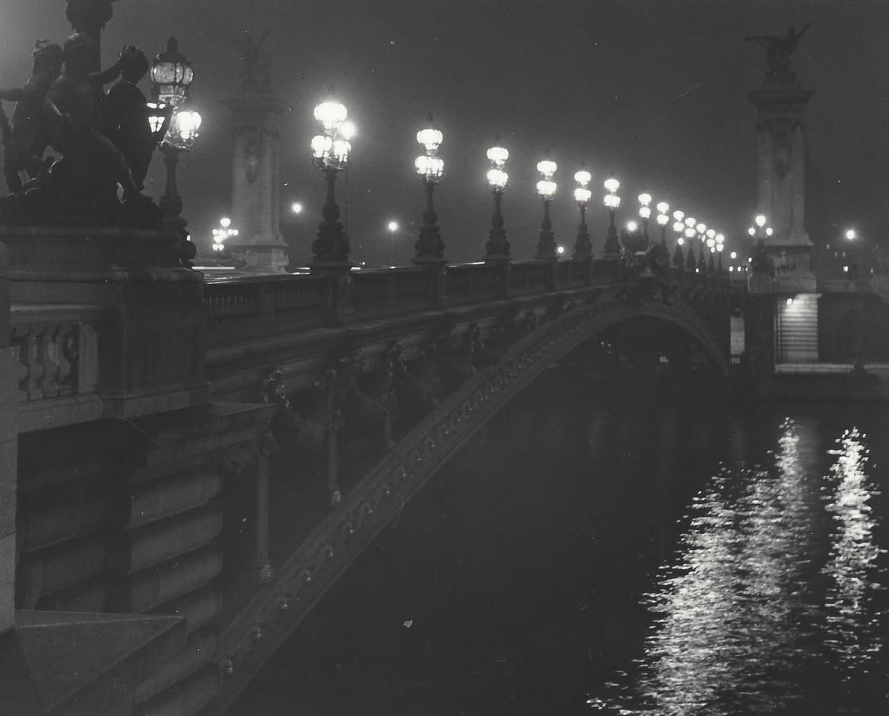 Мост Александра III, Париж, 1950-е. Фотограф Кис Шерер