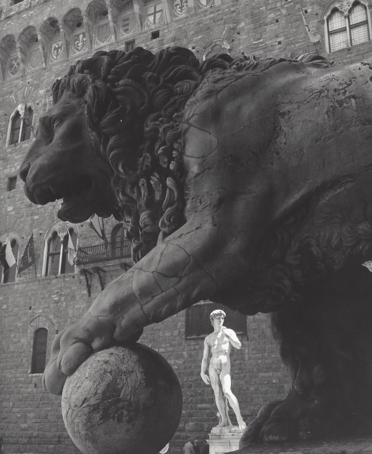 Флоренция, Италия, 1950-е. Фотограф Кис Шерер
