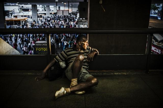 Автобусная станция. Фотограф Густаво Минас