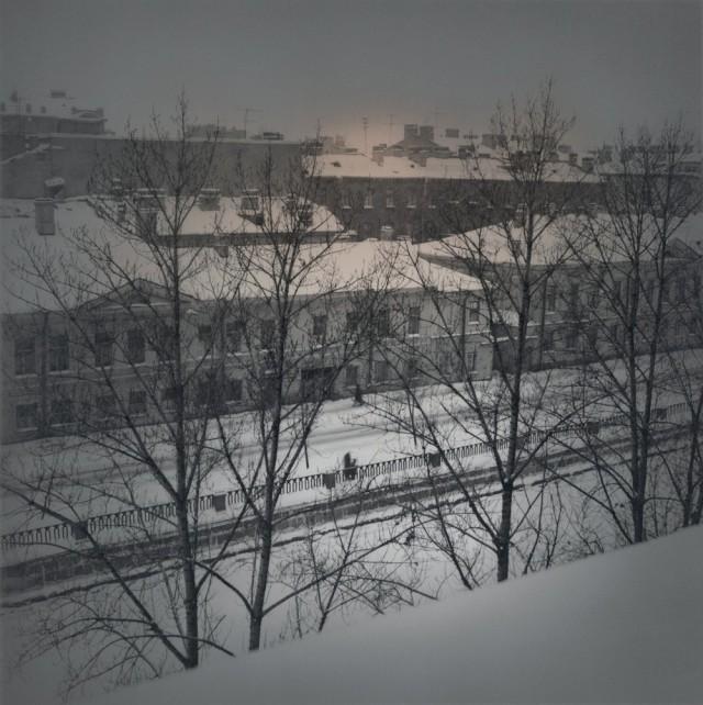 Крюковский канал, 1996. Чёрно-белая магия Санкт-Петербурга.  Фотограф Алексей Титаренко