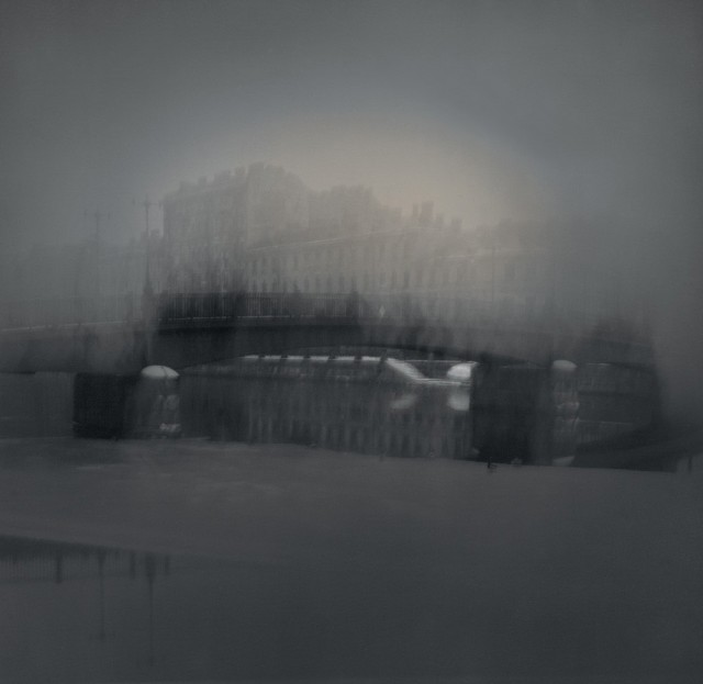 Турецкий мост, 1995. Чёрно-белая магия Санкт-Петербурга.  Фотограф Алексей Титаренко