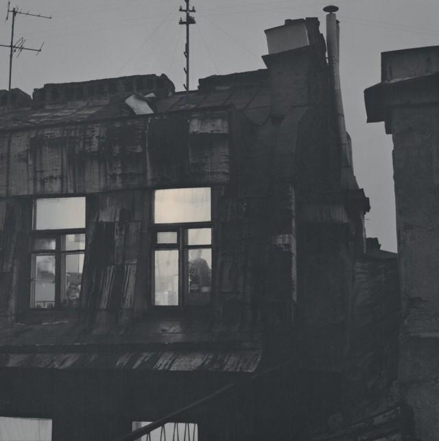 Чердак, 1993. Санкт-Петербург. Фотограф Алексей Титаренко