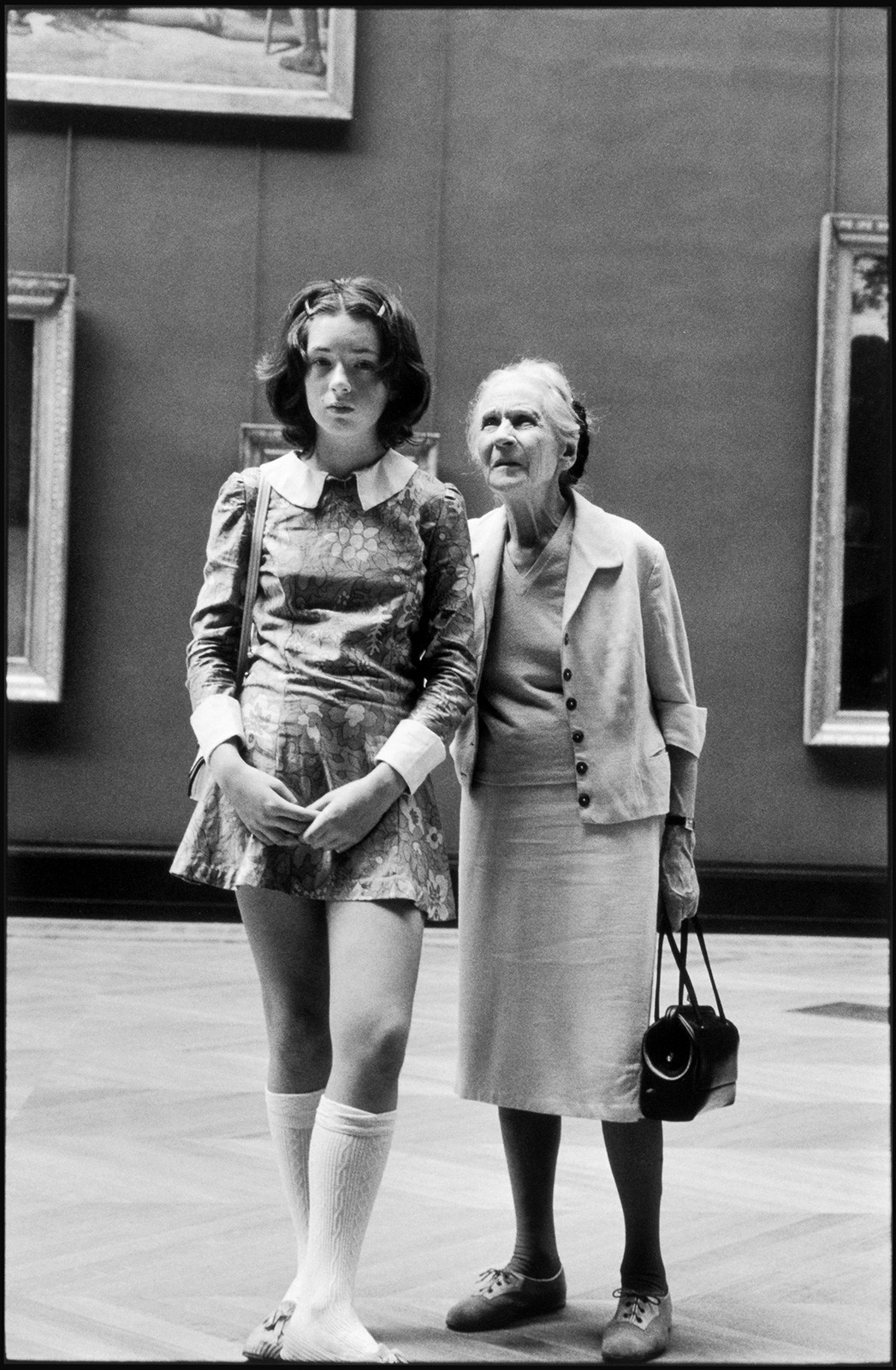 Лувр, Париж, 1969. Фотограф Алесио де Андраде