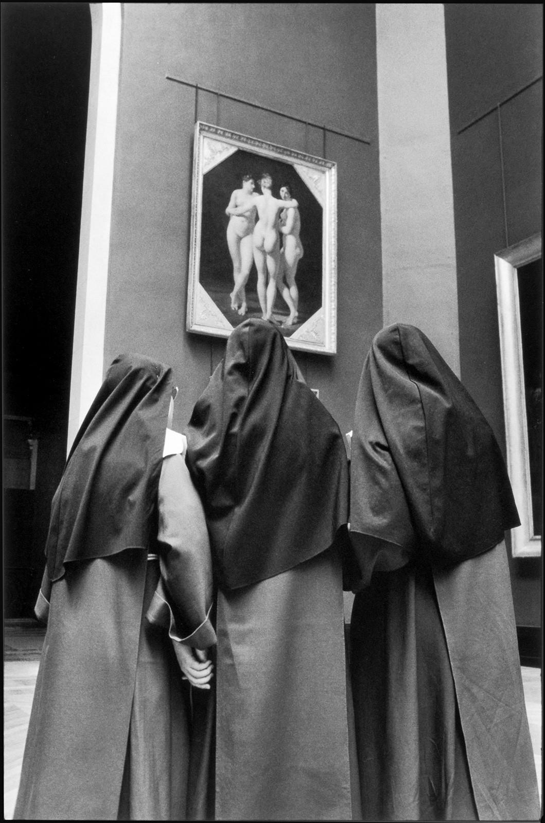 Лувр, Париж, 1970. Фотограф Алесио де Андраде