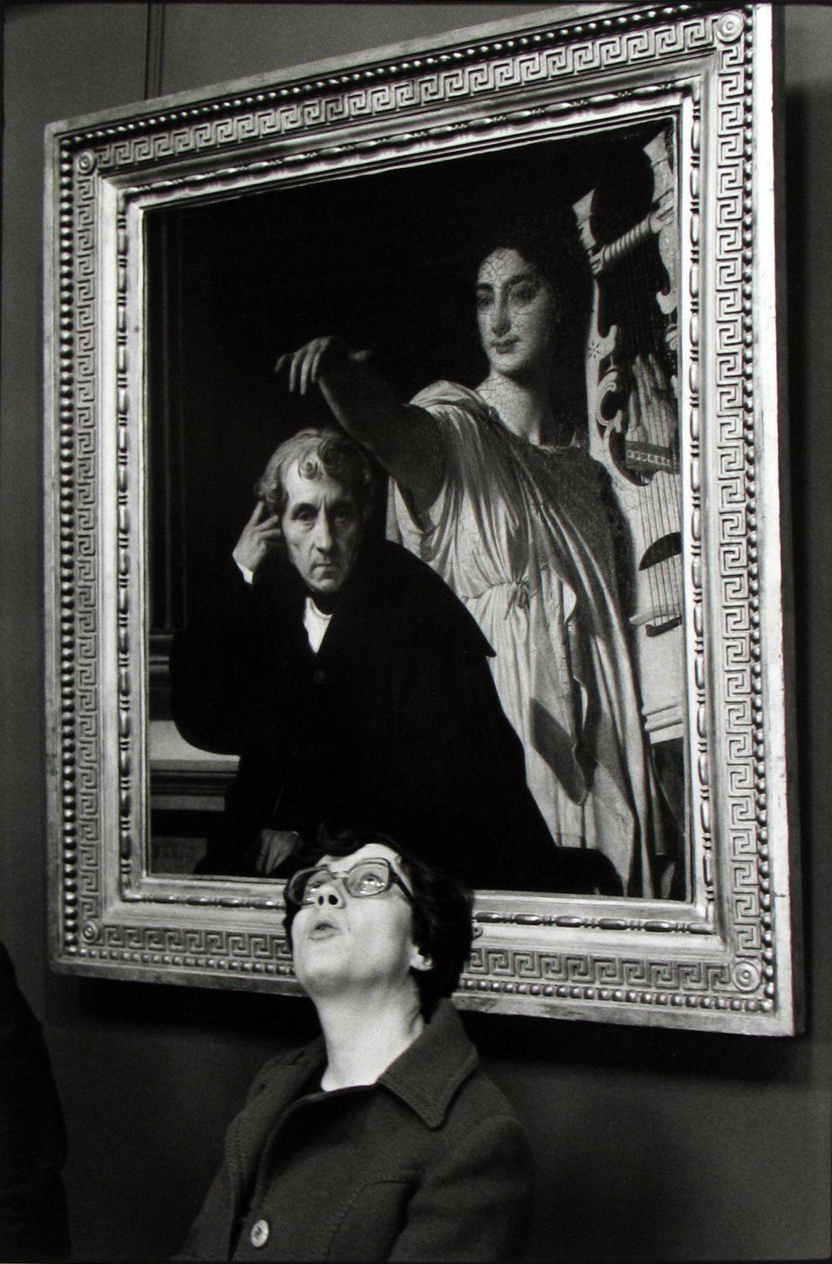 Лувр, Париж, 1978. Фотограф Мартина Франк