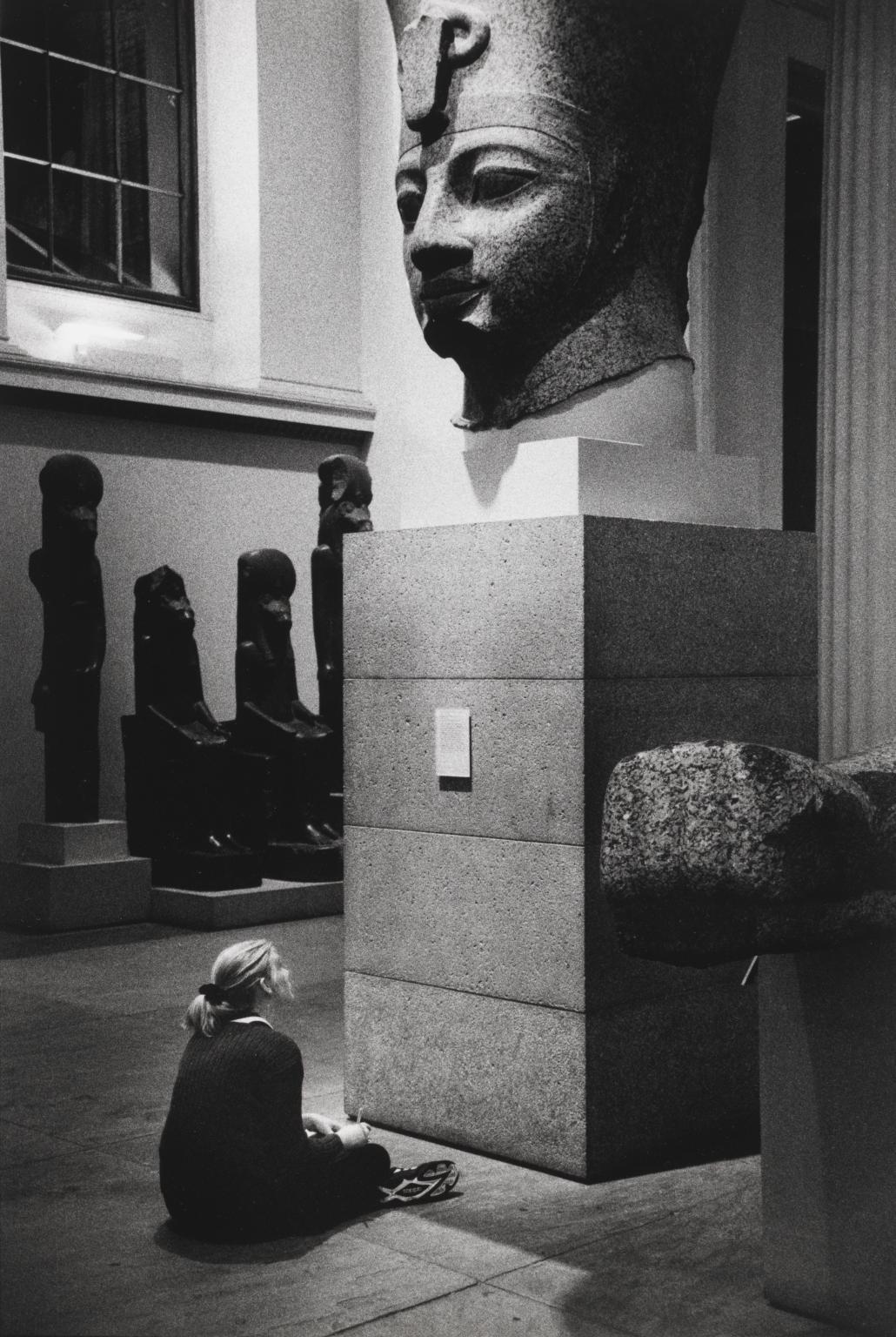 Британский музей, Лондон, 1995. Фотограф Эллиотт Эрвитт