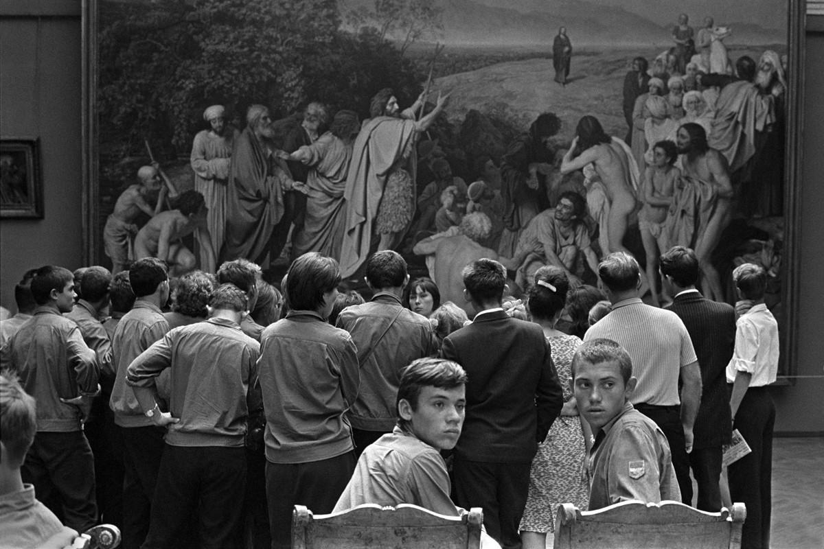 Москва, 1965. Фотограф Константин Манос