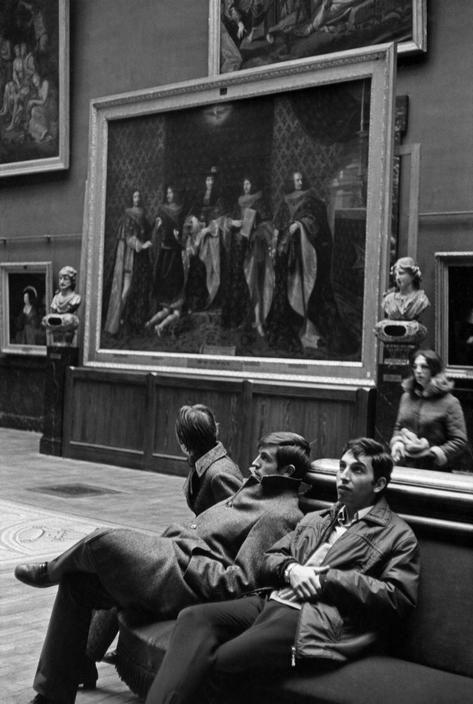 Музей Гренобля, 1969. Фотограф Анри Картье-Брессон