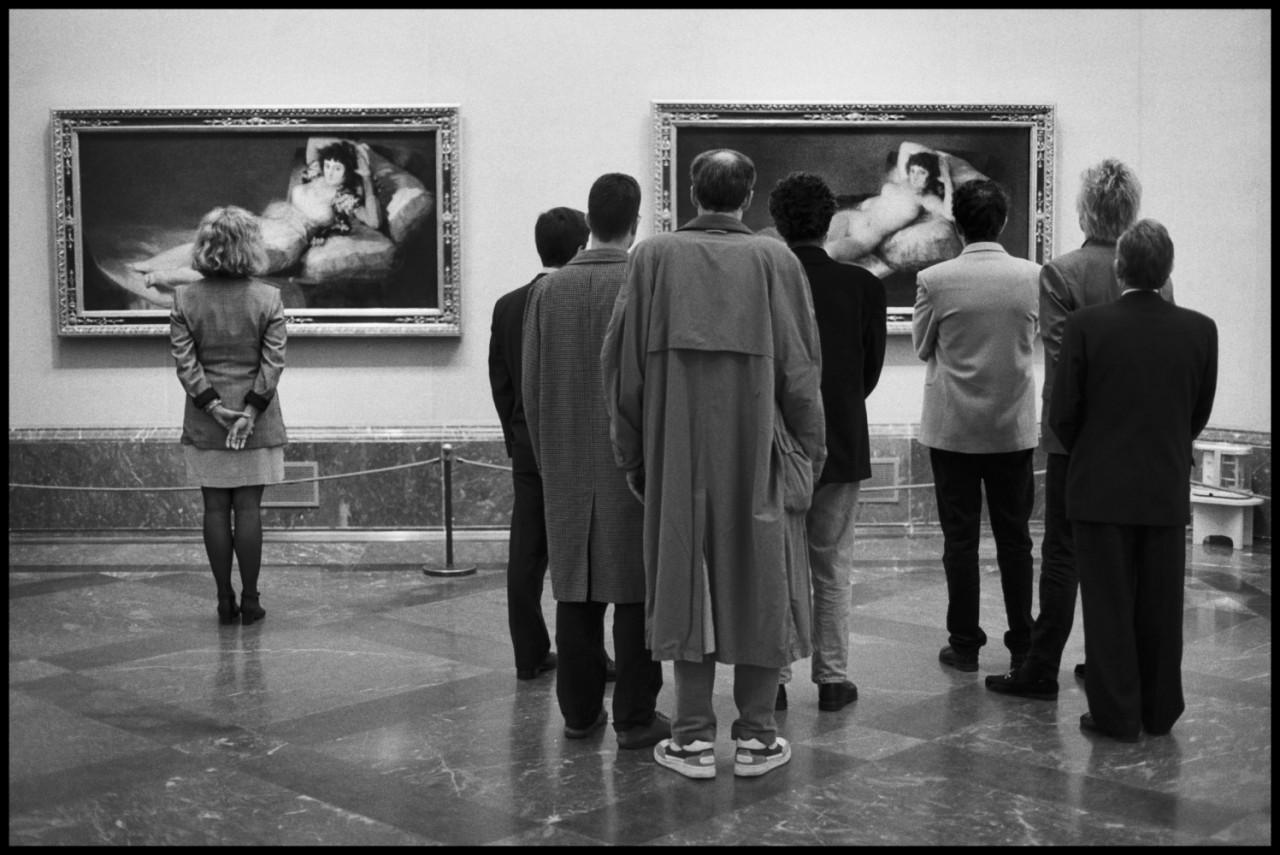 Музей Прадо, Мадрид, Испания, 1995. Автор Эллиотт Эрвитт