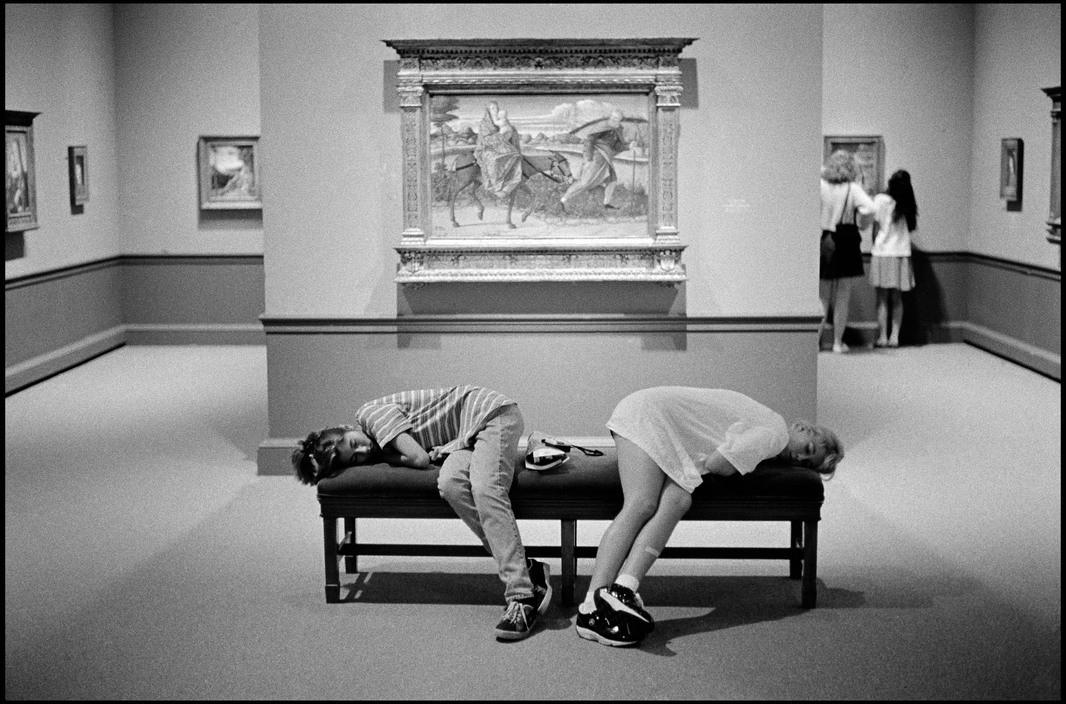 Музей Хиршхорн в Вашингтоне, округ Колумбия, 1996. Фотограф Леонард Фрид