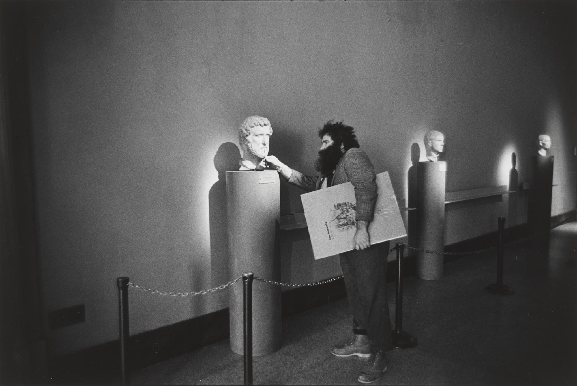 Римский зал в Метрополитен-музее, Нью-Йорк, 1971. Фотограф Пол МакДонах