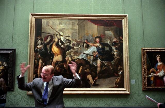 Национальная галерея, Лондон. Фотограф Ник Тёрпин