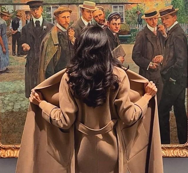 Однажды в музее: посетители музеев в фотографиях от классиков до современников