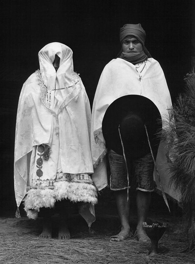 Бракосочетание, Зинакантеко, Мексика, 1987. Фотограф Флор Гардуньо