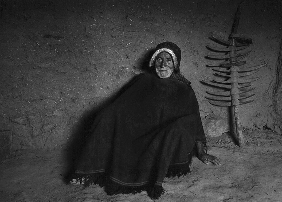 Дед, Боливия, 1990. Фотограф Флор Гардуньо