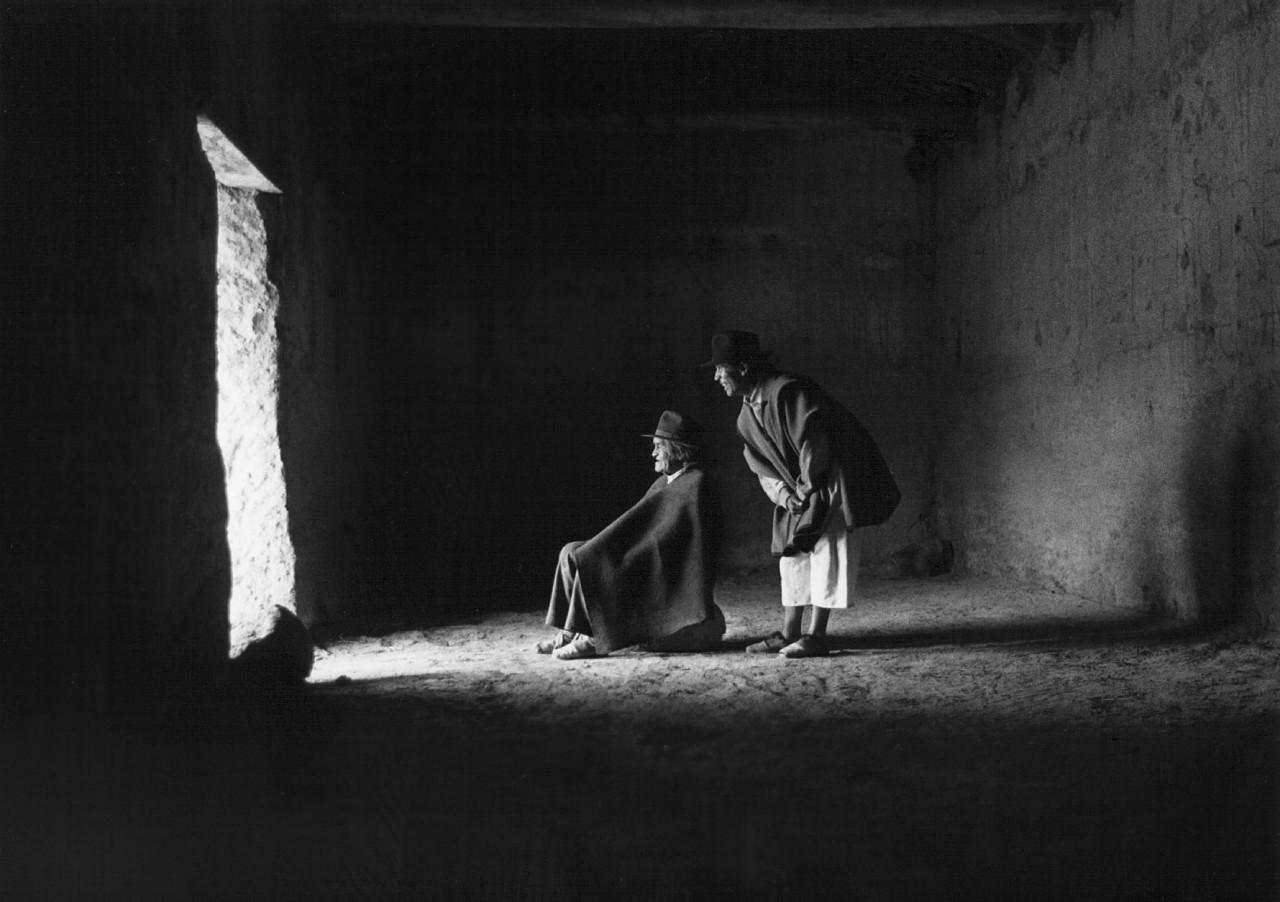 Таита Маркос, Эквадор 1988. Фотограф Флор Гардуньо