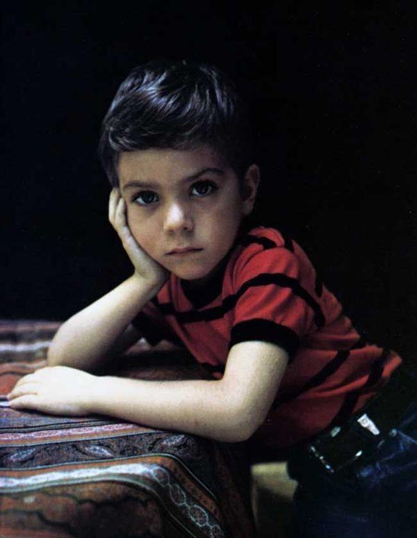 Портрет мальчика. 1969 год. Фотограф Мари Косиндас