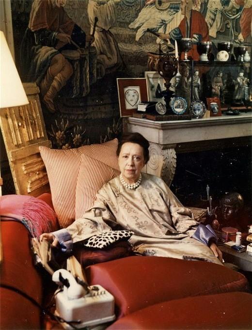 Эльза Скиапарелли, Париж, 1969 год. Фотограф Мари Косиндас