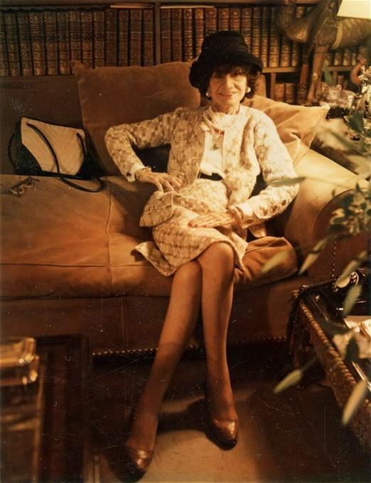 Коко Шанель, 1969 год. Фотограф Мари Косиндас
