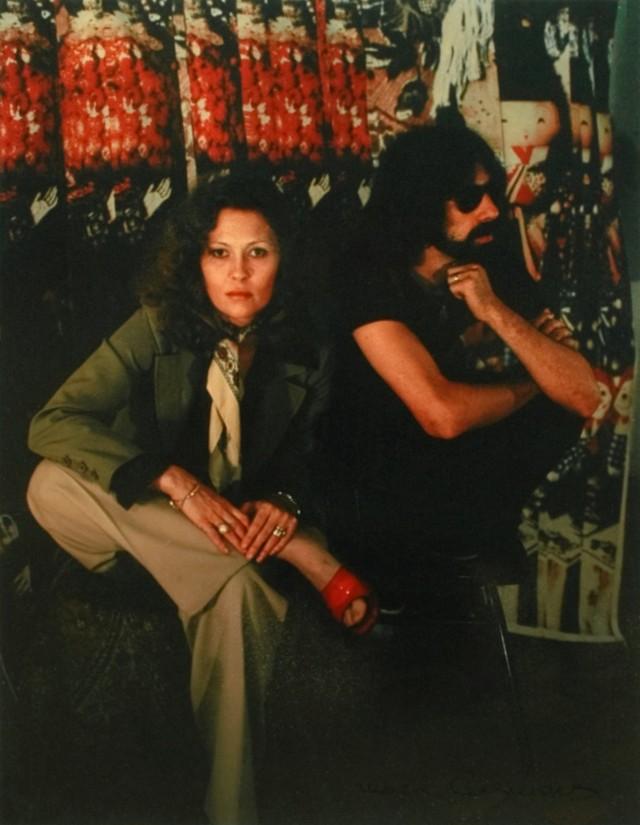 Фэй и Питер, 1976 год. Фотограф Мари Косиндас