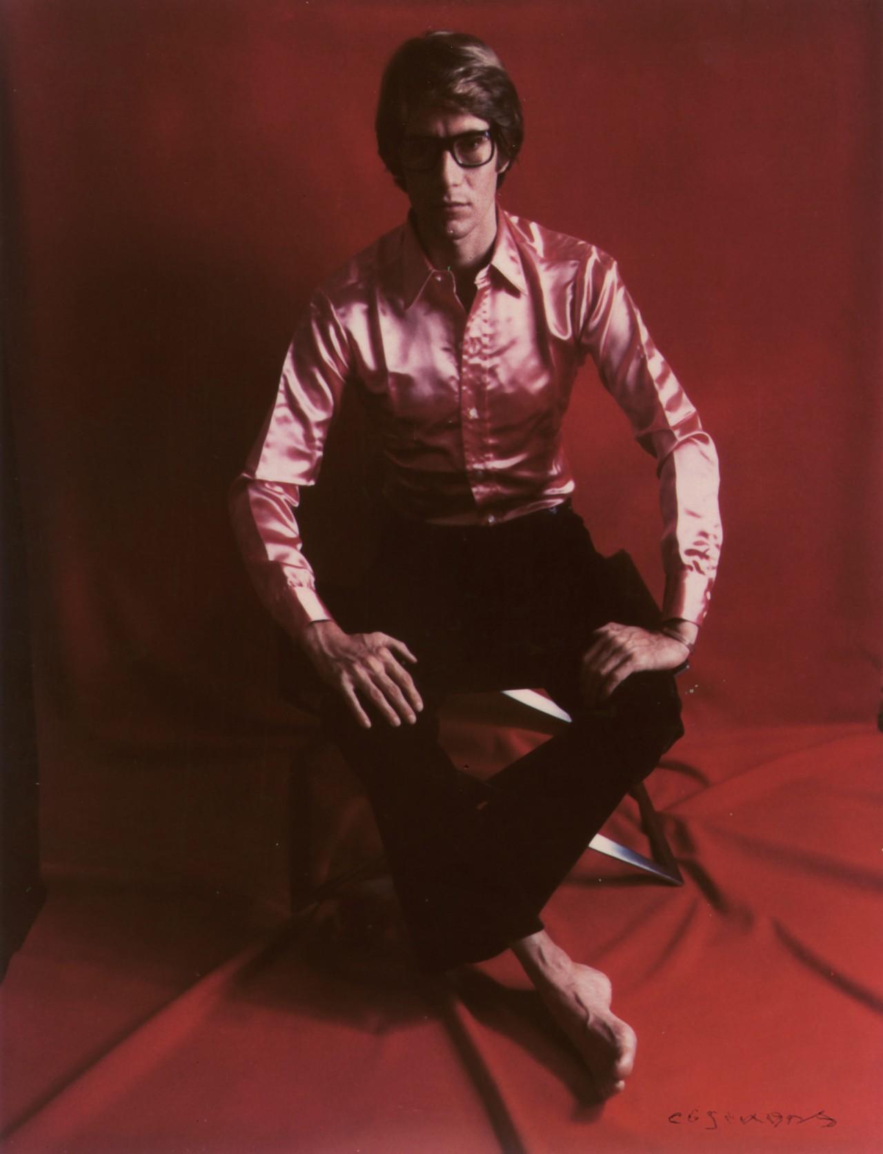 Ив Сен-Лоран, 1968 год. Фотограф Мари Косиндас