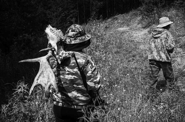 Охотники, Красноярский край, 2016. Фотограф Мартин Вагнер