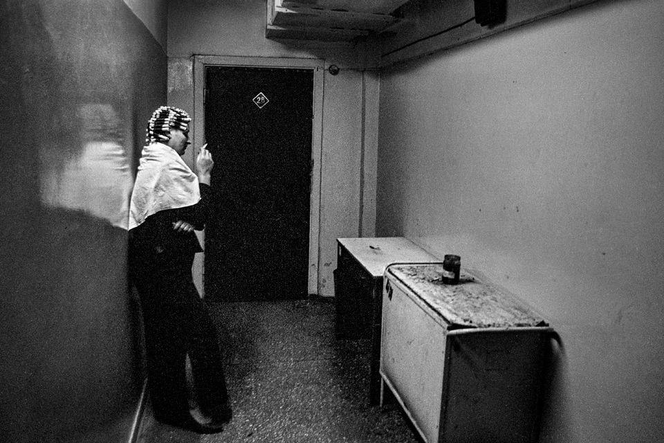 Соседка. Остров Итуруп, Курилы, 2001. Фотограф Мартин Вагнер