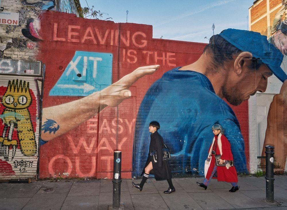 Финалист, 2020. «Восток законченный». Джентрификация, уличное искусство и городское пространство. Фотограф Дуги Уоллес