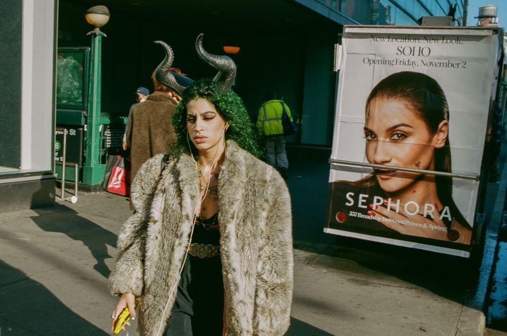 Финалист, 2020. Сохо, 2018. Из серии «Нью-Йорк – город как сцена». Фотограф Уго де Мело