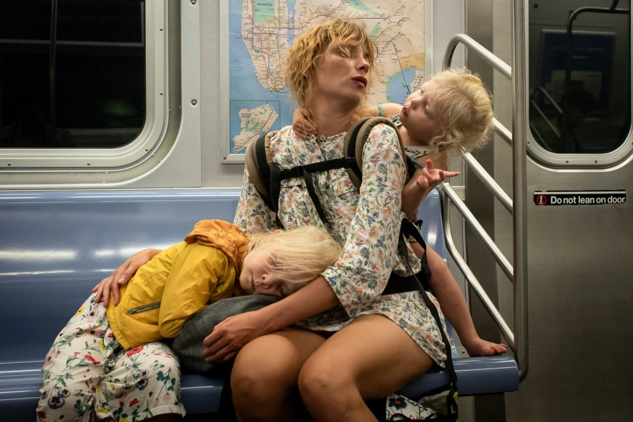 3-е место в категории «Одиночное изображение», 2020. Поезд Q, Нью-Йорк. Фотограф Пол Кессель