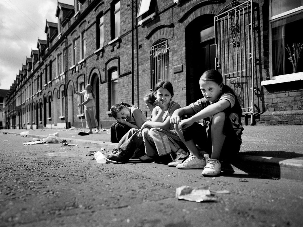 2-е место в категории «Серия фотографий», 2020. «Молодёжь Белфаста». Фотограф Тоби Биндер