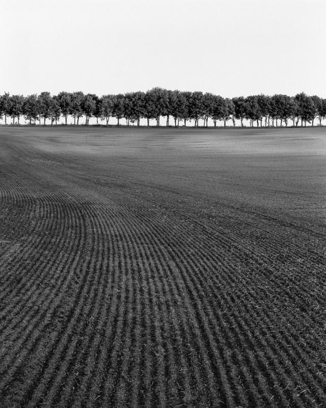Вспаханное поле. Фотограф Роберт Ковач