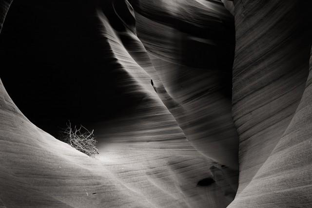 Секретный каньон, Аризона. Фотограф Блейк Энтинг
