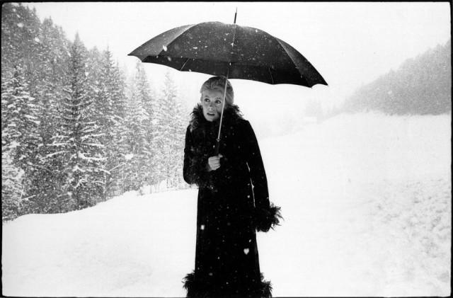 Катрин Денёв на съёмках фильма «Сирена с Миссисипи», 1969. Фотограф Мэри Эллен Марк