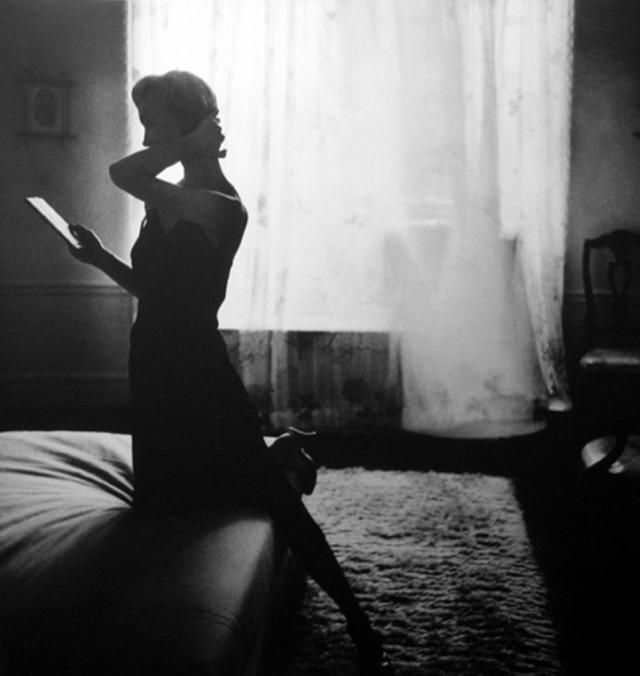Фотомодель Эвелин Трипп, Harper's Bazaar, 1948. Фотограф Лилиан Бассман