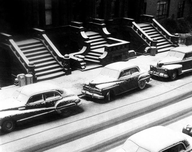 Белые и горбатые, Нью-Йорк, 1952. Фотограф Рут Оркин