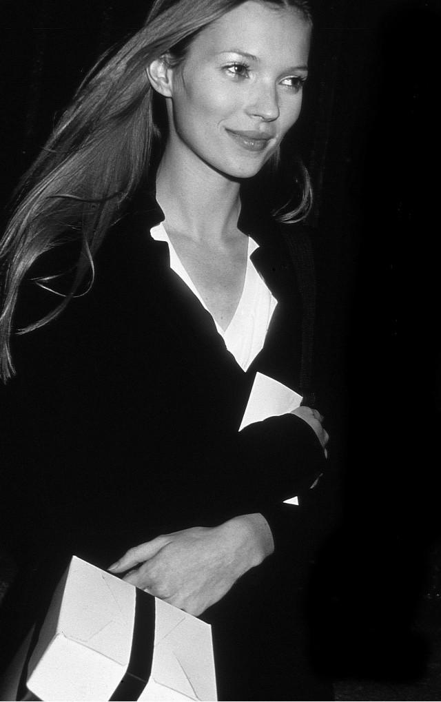 Кейт Мосс в клубе «Студия 54», 1995. Фотограф Роуз Хартман