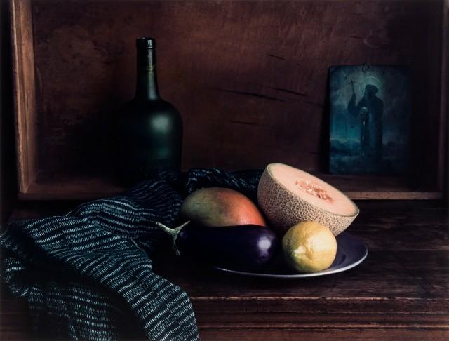 Натюрморт с баклажаном, 1996. Фотограф Эвелин Хофер