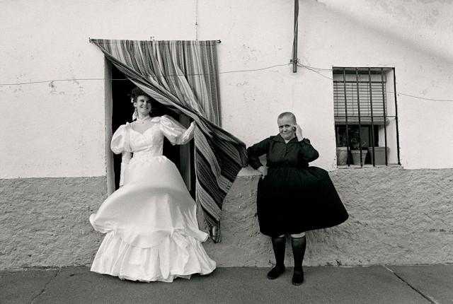 Свадьба Лоли. Марсилья, Испания, 1991. Фотограф Кристина Гарсия Родеро