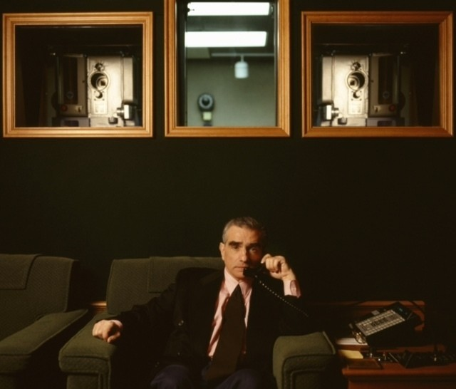 Мартин Скорсезе, кинозал, 1995. Фотограф Линн Голдсмит