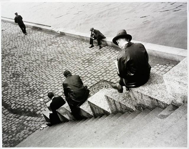 Париж, 1931. Фотограф Ильза Бинг