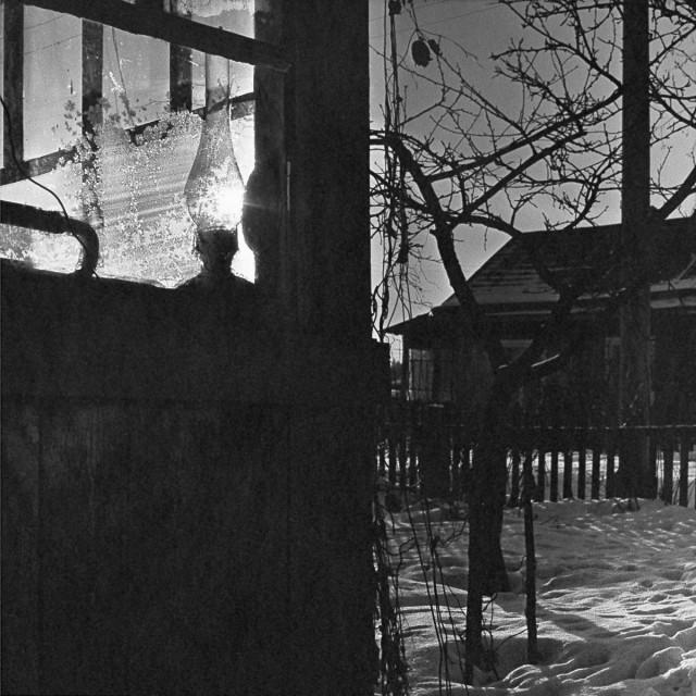 Вечерний свет, 1986. Фотограф Галина Лукьянова