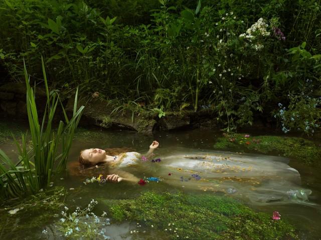 «Офелия». Фотограф Джулия Фуллертон-Баттен