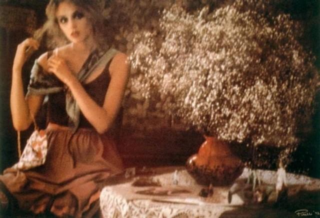 Для календаря, 1972. Фотограф Сара Мун