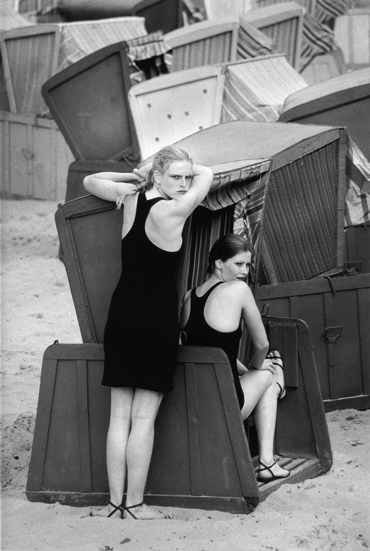 Мариза и Лиане, Зеллин, 1981. Фотограф Сибилла Бергеман