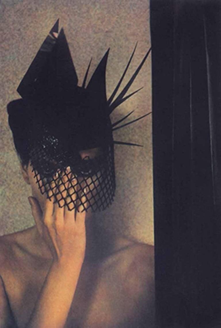 Розмари. Шляпа модный дом Emanuel Ungaro. Vogue, 1985 год. Фотограф Шейла Мецнер